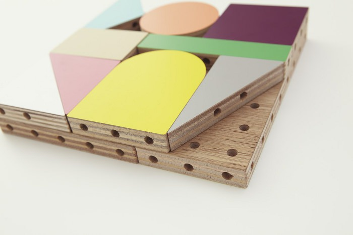 Dowel blocks le kit de construction pour enfant par Ichiro Design