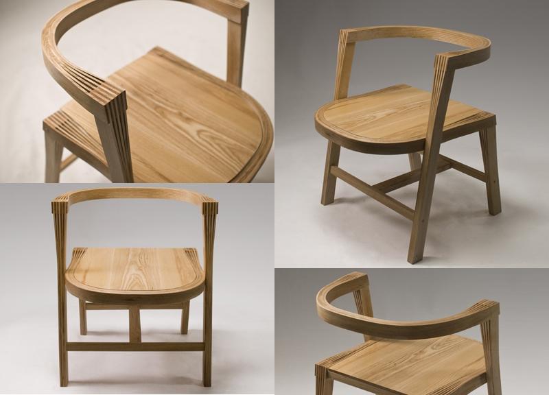 Finger Joint Chair par Samwoong Lee