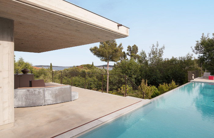 Private House la villa contemporaine à Saint-Tropez