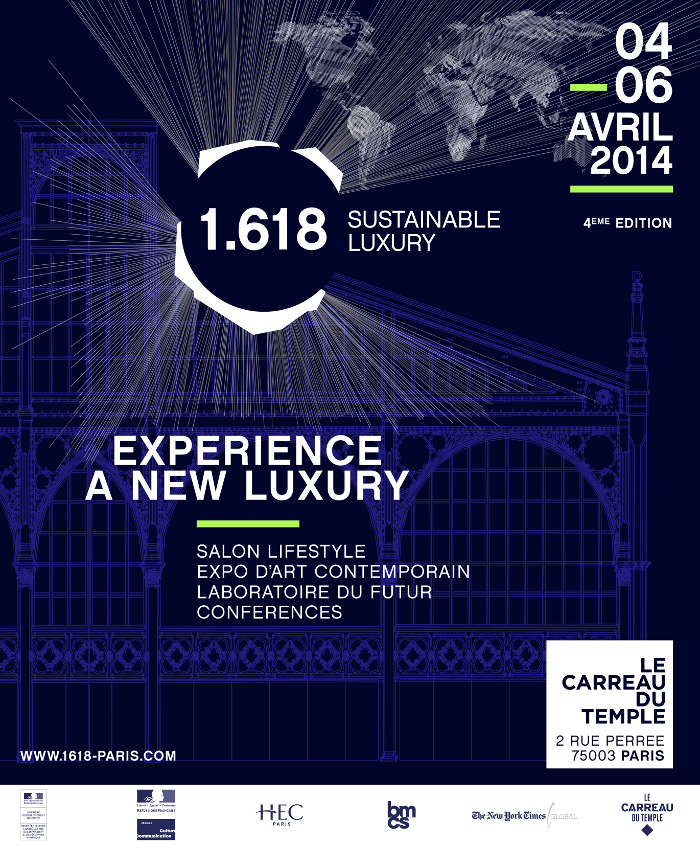 1.618 SUSTAINABLE LUXURY salon du luxe durable