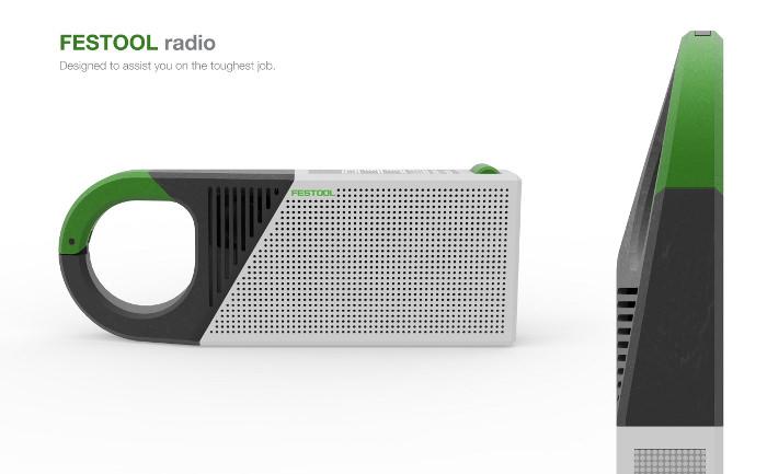 Festool Radio marke eingenbau -