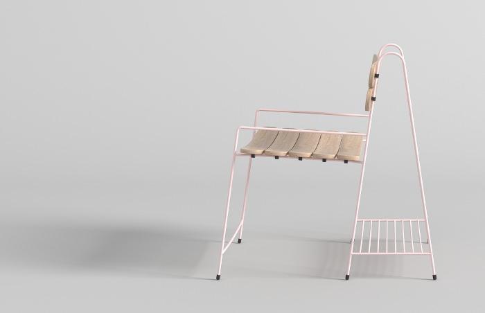 Nebt la chaise de jardin par Burak Kocak
