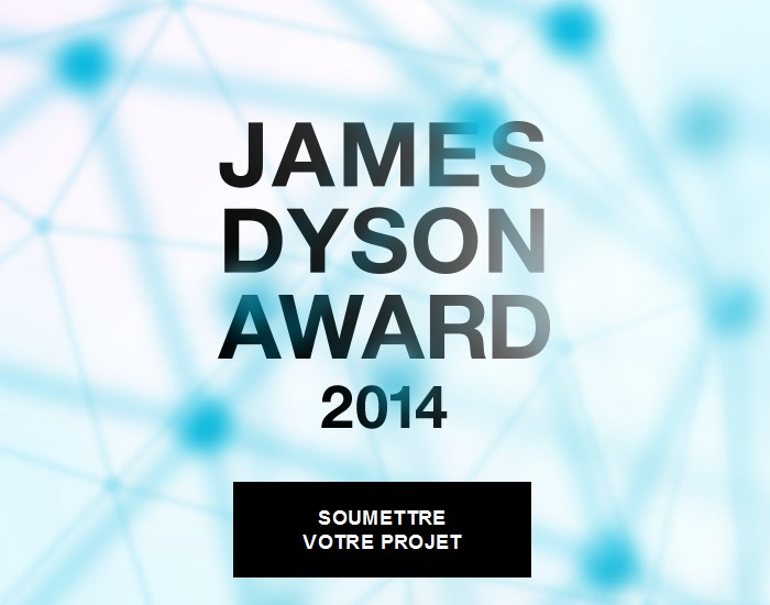 Ouverture du James Dyson Award 2014