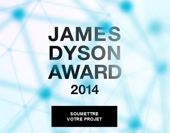 Ouverture du James Dyson Award 2014