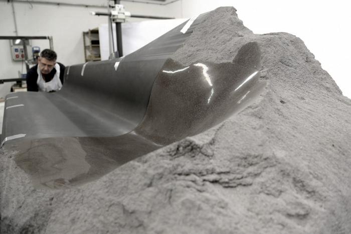 Preview Milan 2014 : Sofa Onyx par le Peugeot Design Lab