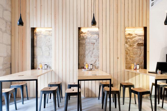 Restaurant Bordeaux  O'PETIT EN'K par le Studio Hekla  Blog  ~ Restaurant Le Petit Bois Bordeaux