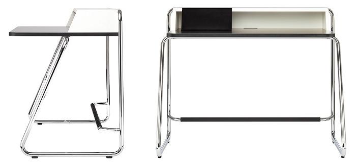 s 1200 le nouveau bureau par thonet blog esprit design. Black Bedroom Furniture Sets. Home Design Ideas