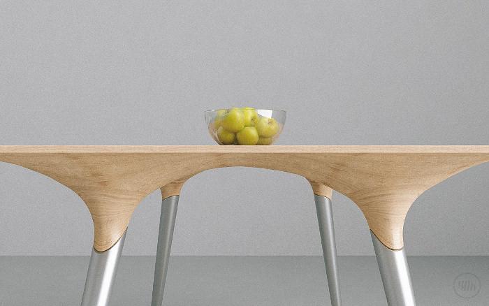 Sottobosco la table à manger par Interno99