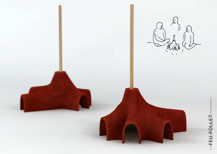Projet étudiant : Instincts premiers par Emilie Ricada et Lionel Dinis Salazar