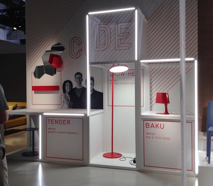 Stand Calligari - Milan Design Week