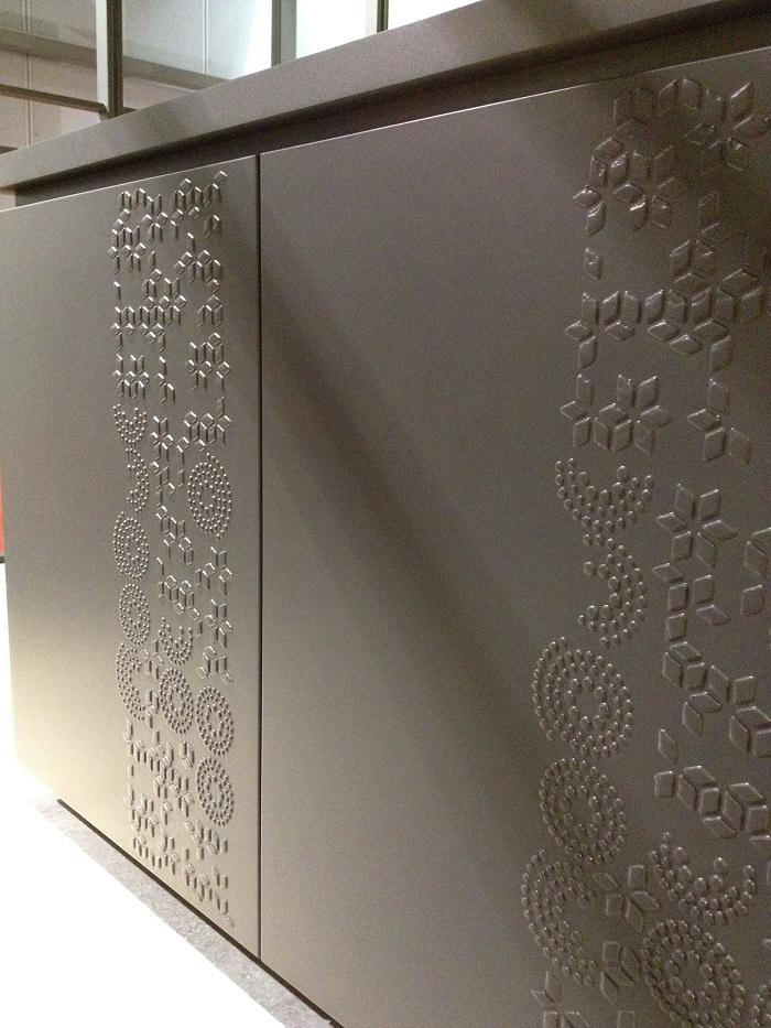 Porte de cuisine chez Alf + Dafre - Salone del Mobile 2014
