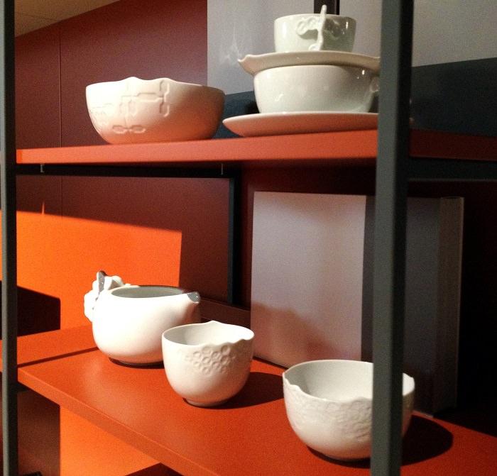 Vaisselle chez Alf + Dafre  - Salone del Mobile 2014