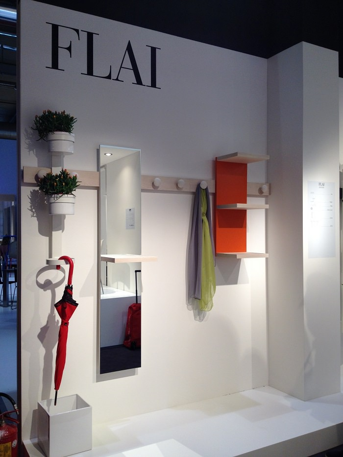 Entrée modulable par Flai  - Milan Design Week