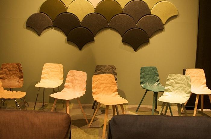 Chaises chez Bla Station - Salone del Mobile 2014