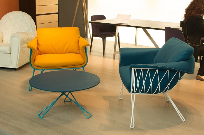 Les fauteuils de Carlo Colombo pour San Patrignano - Milan Design Week