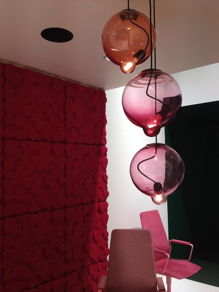 Lampes chez Johanson - Salone del Mobile 2014