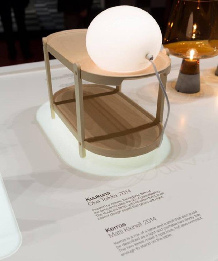 Lampe Kuukuna par Oiva Toikka pour Iittala - Salone del Mobile 2014