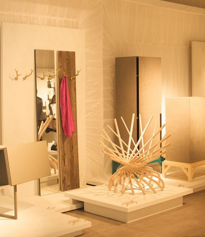 Fauteuil nid chez Mogg - Milan Design Week