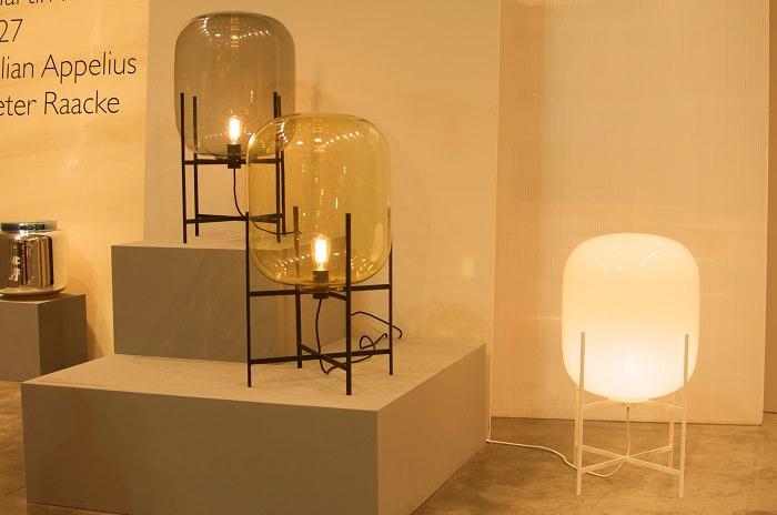 Lampe Oda par Sebastian Herkner pour Pulpo  - Milan Design Week