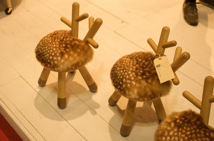 Les sièges pour enfants Rêne par EO Design Group - Milan Design Week