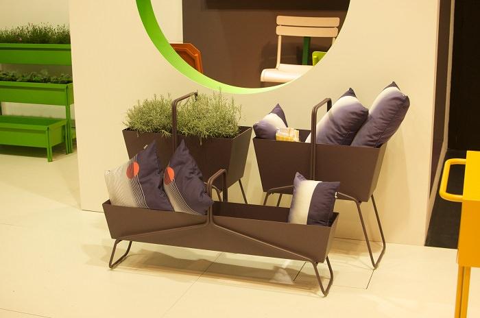 Les jardinières Fermob - Milan Design Week