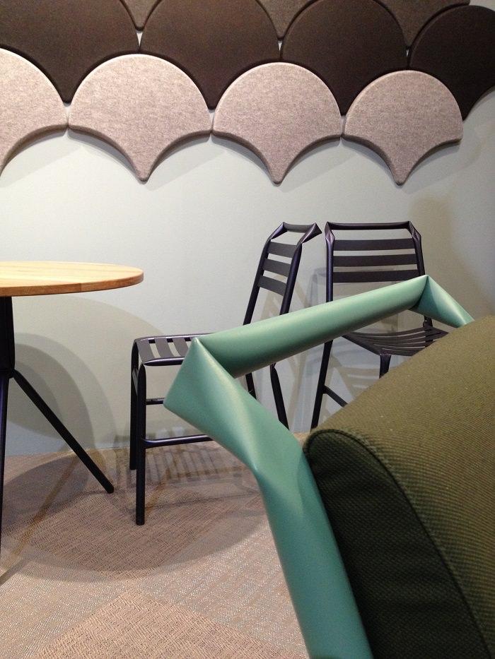 Chaise, Bla Station, Suède  - Milan Design Week