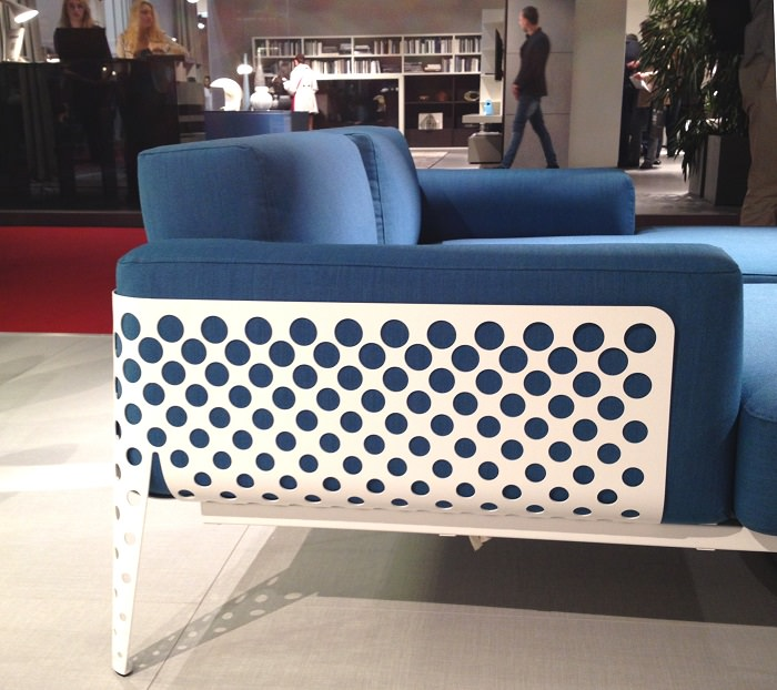 Ensemble de fauteuils Pois par Toan Nguyen pour Varaschin  - Salone del Mobile 2014