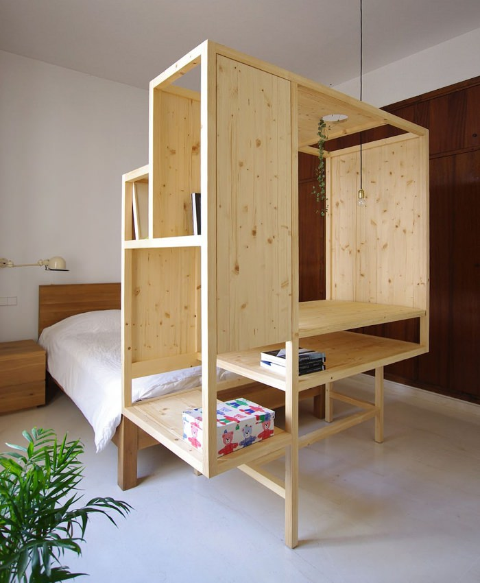 aina meuble multifonctions par ted 39 a arquitectes blog esprit design. Black Bedroom Furniture Sets. Home Design Ideas