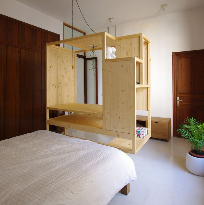 Aina meuble multifonctions par ted 39 a arquitectes blog for Meubles concept paris