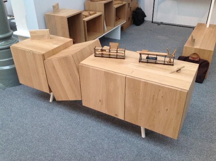 Buffet - Falling Box  Design by MANES GAEL