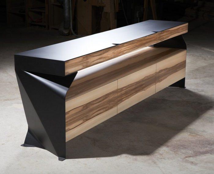 mobilier design metal. Black Bedroom Furniture Sets. Home Design Ideas