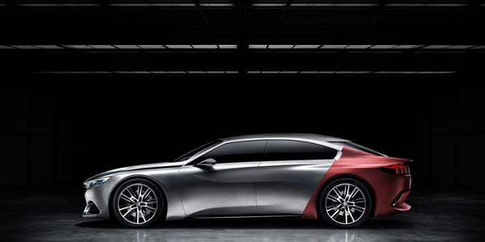 Exalt le nouveau concept car Peugeot