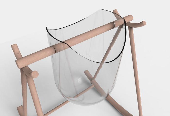 Le meuble à bascule par Ambre Pujol et UNI Studio