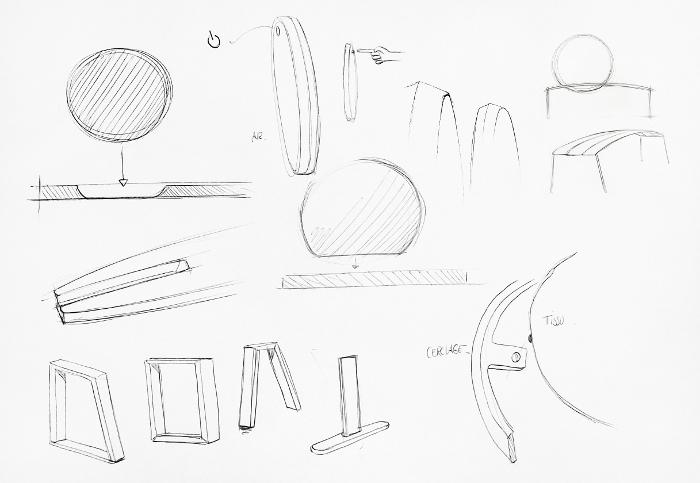Eclipse tablette et enceinte par Romain Deberle