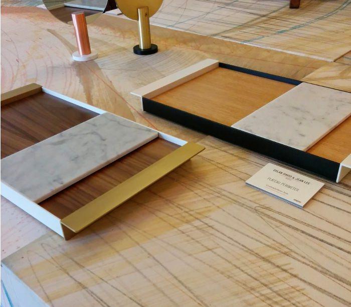 Plateau parimeter par Dylan David et Jean Lee - Expo American Design