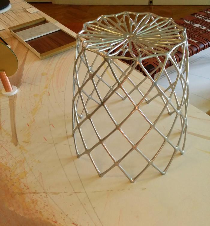 Tabouret Kaktus par Enrico Bressan - Expo American Design