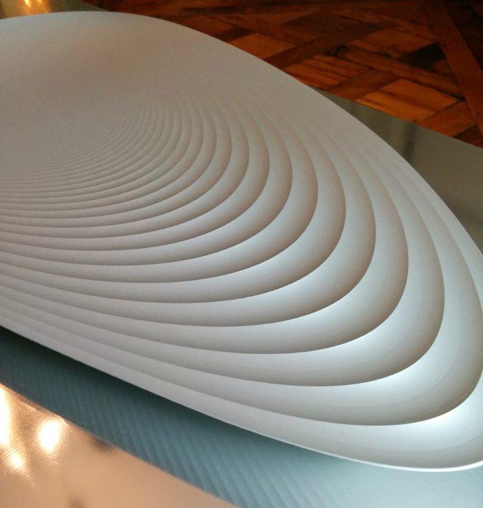 Plateau aluminium par Neal Feay Studio Expo American Design