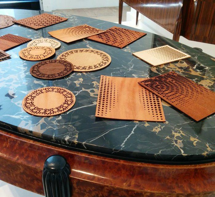 20g de bois par Julie Rothhahn expo musée des arts modernes