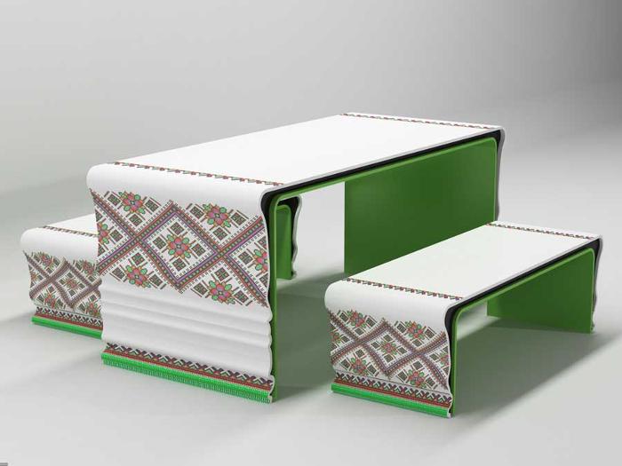 Collection Corian brodé par Yaroslav Galant