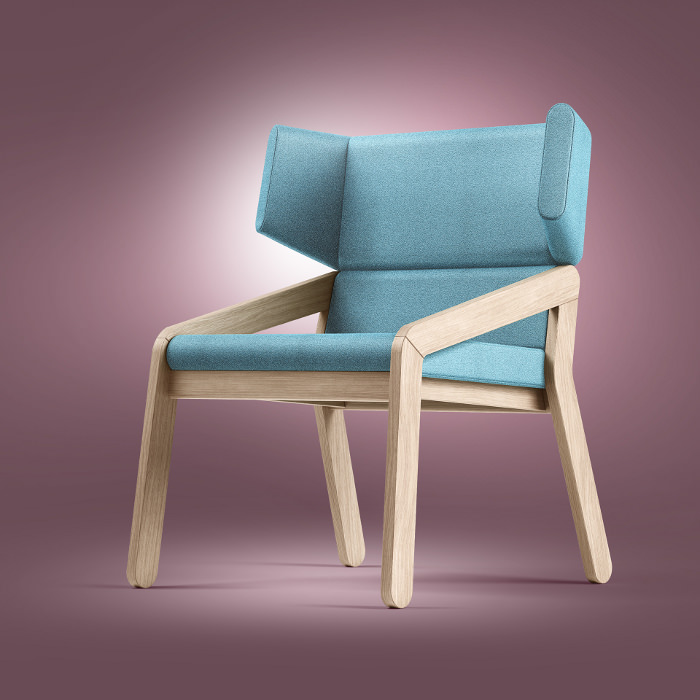 BASE light armchair le fauteuil par Redo Design