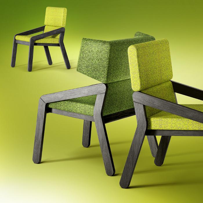 Base Light Armchair Fauteuil Redo Design Furniture