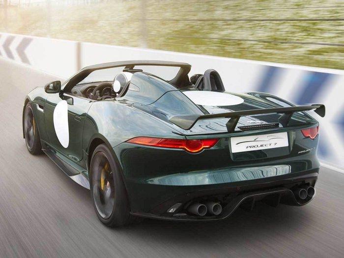 Cure de jouvence la nouvelle Jaguar F-Type Project 7