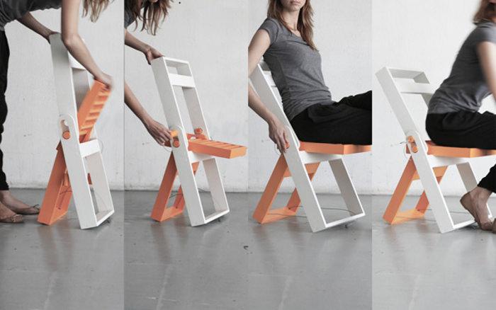 Folding chair par Pawel Kochanski