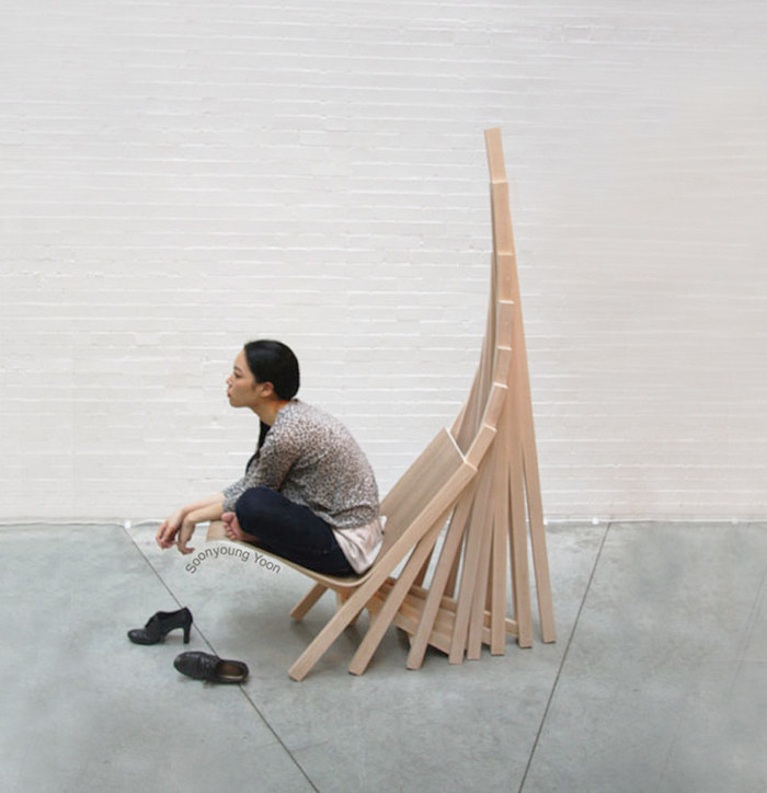 Way Home le fauteuil architectural par Soonyoung Anna Yoon