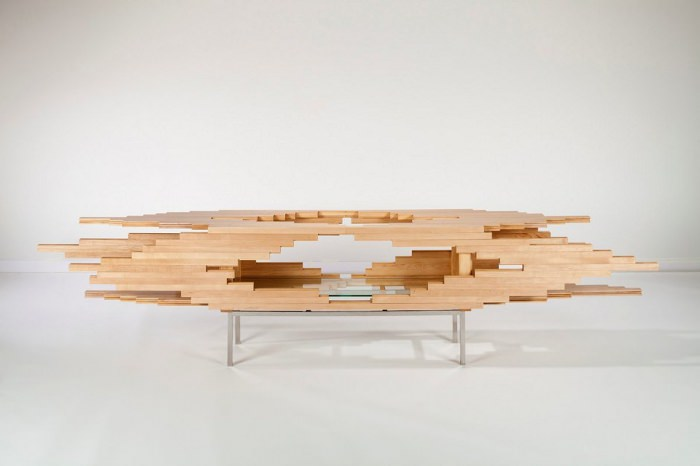 Explosion le cabinet par Sebastian Errazuriz