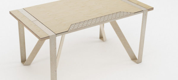 Mobilier recyclable PlayWood par Stefano Guerrieri