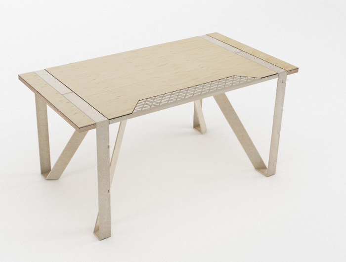 mobilier recyclable playwood par stefano guerrieri. Black Bedroom Furniture Sets. Home Design Ideas