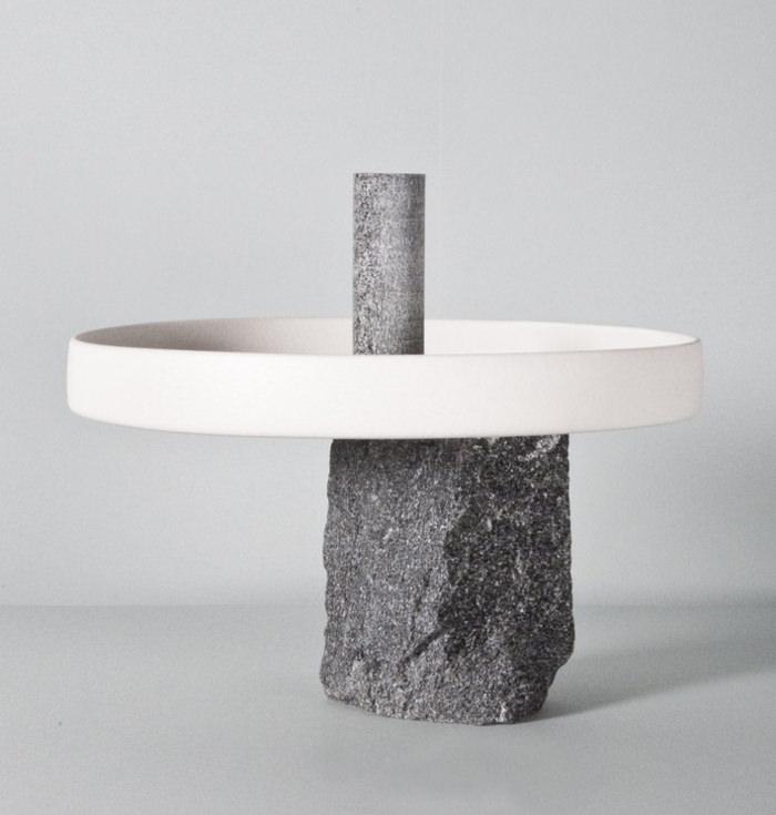 Assez Neolithic le centre de table par Giulio Parini - BED BF16