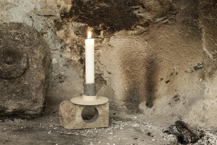 Neolithic bougeoir par Giulio Parini