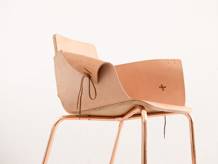 Shoemaker chair la chaise lacets par mart n az a blog esprit design for Mobilier design espagne